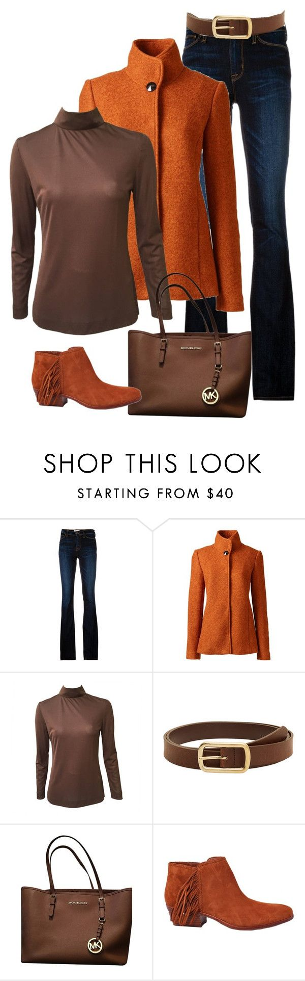 """Untitled 20"" by havlova-blanka on Polyvore featuring Hudson, Lands' End, Emilio Pucci, Violeta by Mango, Michael Kors and Sam Edelman"