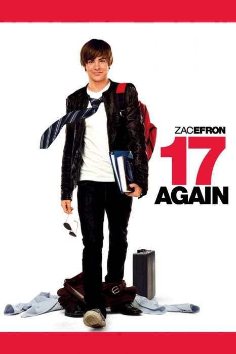 17 Again Movie Poster - Zac Efron, Matthew Perry, Leslie Mann  #17Again, #MoviePoster, #BurrSteers, #Comedy, #LeslieMann, #MatthewPerry, #ZacEfron
