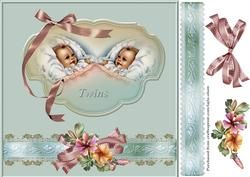 New Baby Twins on Craftsuprint - View Now!