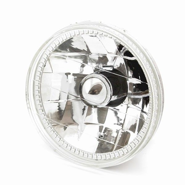 Oracle OEM Style Halogen Headlights with White Halo Rings - PAIR