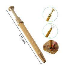 Metallo grabber pinzette 115mm per la presa piccoli componenti e patatine durevole brand new utensili a mano(China (Mainland))