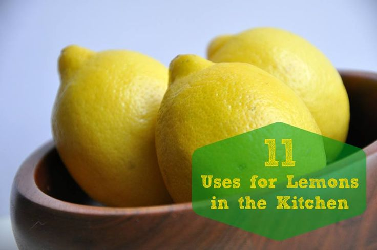 11 Uses for Lemons in the Kitchen