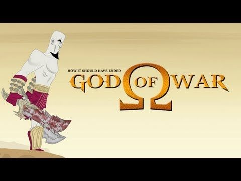 How God Of War Should Have Ended - Has blood