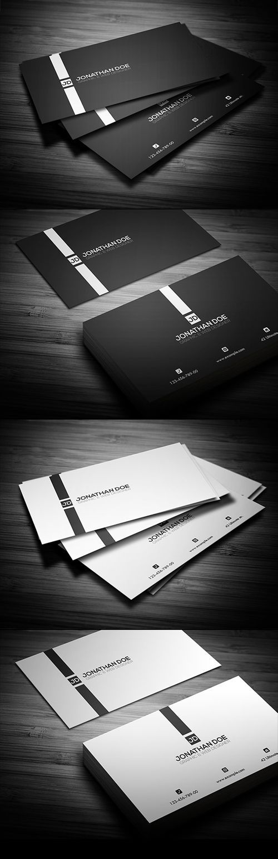 Minimal Business Card                                                                                                                                                                                 Mais