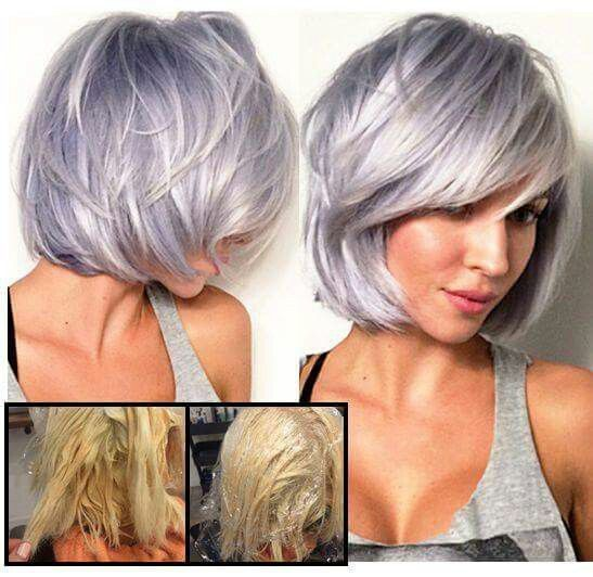 Short ash, lavender hair*                                                                                                                                                      More