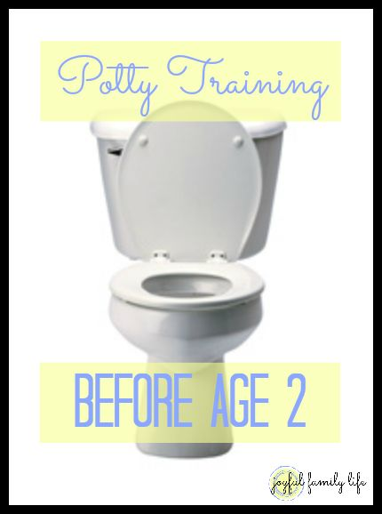 How to start Potty Training before your child turns 2 years old. Great tips!