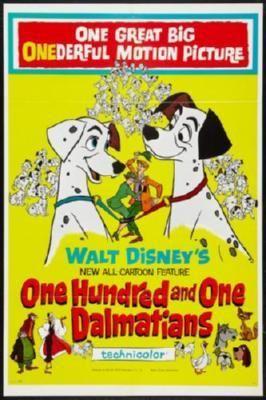 101 Dalmatians Movie Poster Puzzle Fun-Size 120 pcs