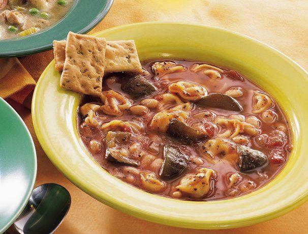 Easy Tortellini Stew: Tortellini Stew, Soups, Cooker Italian, Recipes, Slowcooker, Easy Tortellini, Slow Cooker, Italian Tortellini, Tortellini Soup