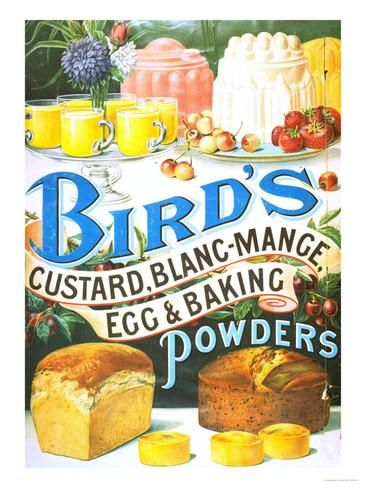Bird's, Custard Blancmange, UK, 1920 Giclee Print - AllPosters.co.uk