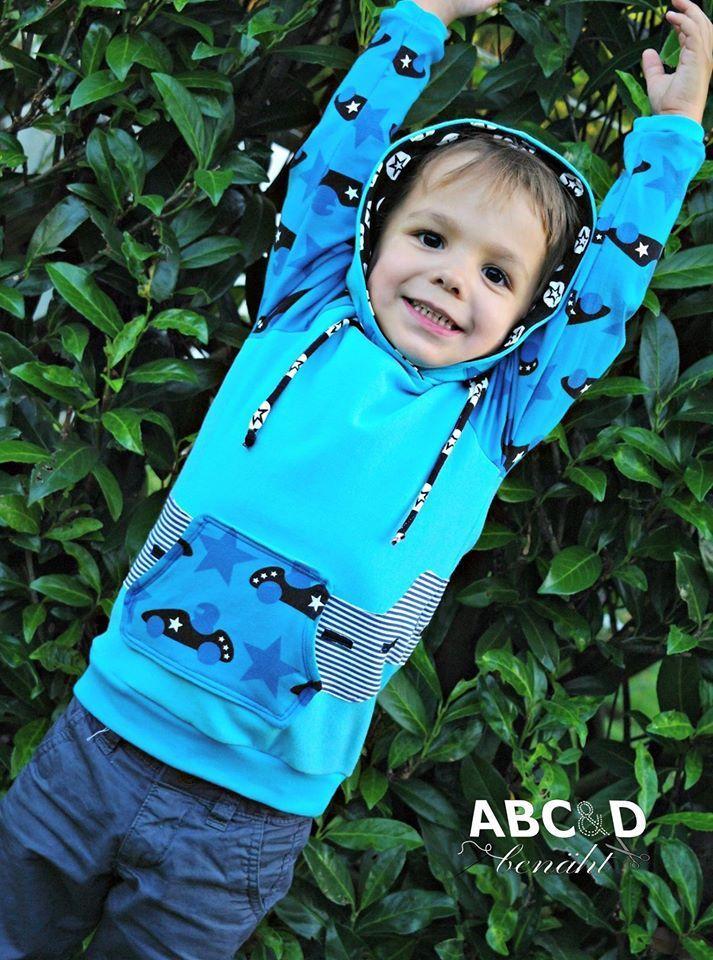 Kostenlos hoodie kinder schnittmuster Schnittmuster Kinder