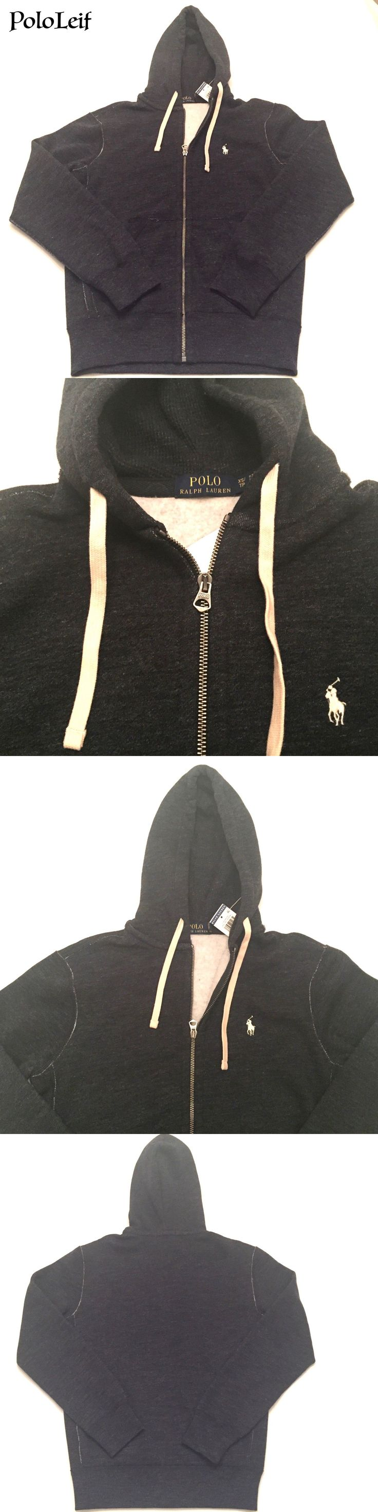 Sweats and Hoodies 155183: Polo Ralph Lauren Mens Zip Pony Hoodie Sweatshirt Jacket Blue Xs, S, M, L, Xl -> BUY IT NOW ONLY: $49.98 on eBay!