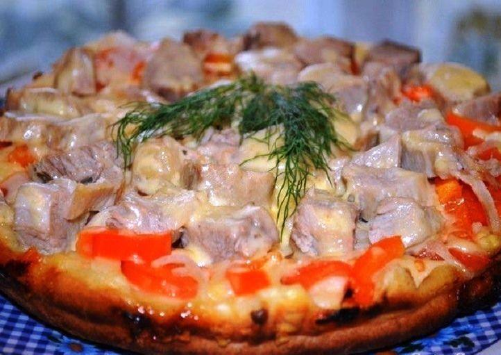 пицца на сковороде2