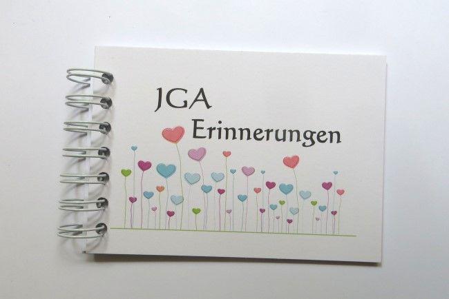Hochzeitsbuttons - JGA Geschenk Braut Erinnerungsbuch Scrapbook - ein Designerstück von button4u bei DaWanda