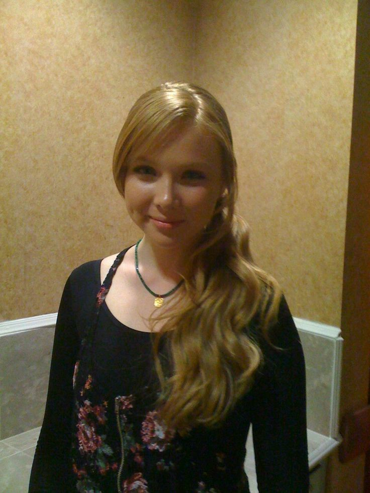 My first time working with Molly Quinn on a movie called The First Time