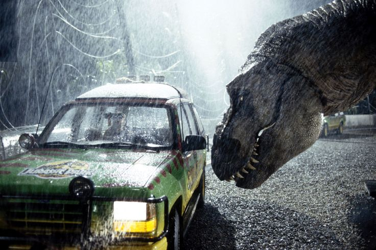 """The roar of the T-Rex dinosaur in """"Jurassic Park"""" (1993) was produced by layering the sounds of a tiger, alligator and a baby elephant."""