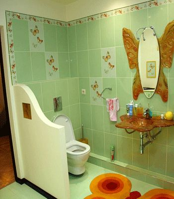 Kids Bathrooms, Playful And Safe Bathroom Design Ideas