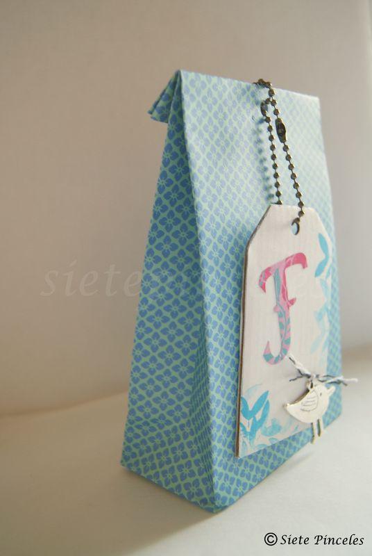 Tutorial bolsa de papel ideas envolver regalos