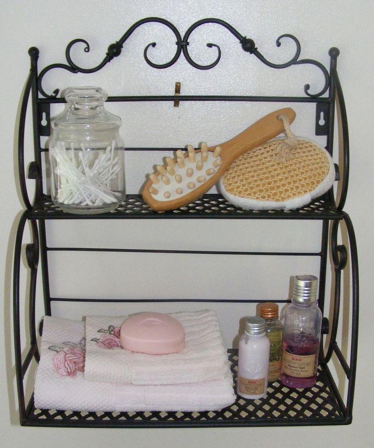 Wrought Iron Kitchen Accessories: Salle De Bain Images On Pinterest