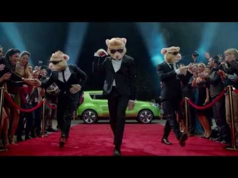 """2014 Kia Soul Hamster Commercial (Lady Gaga """"Applause"""" Official Song)."""