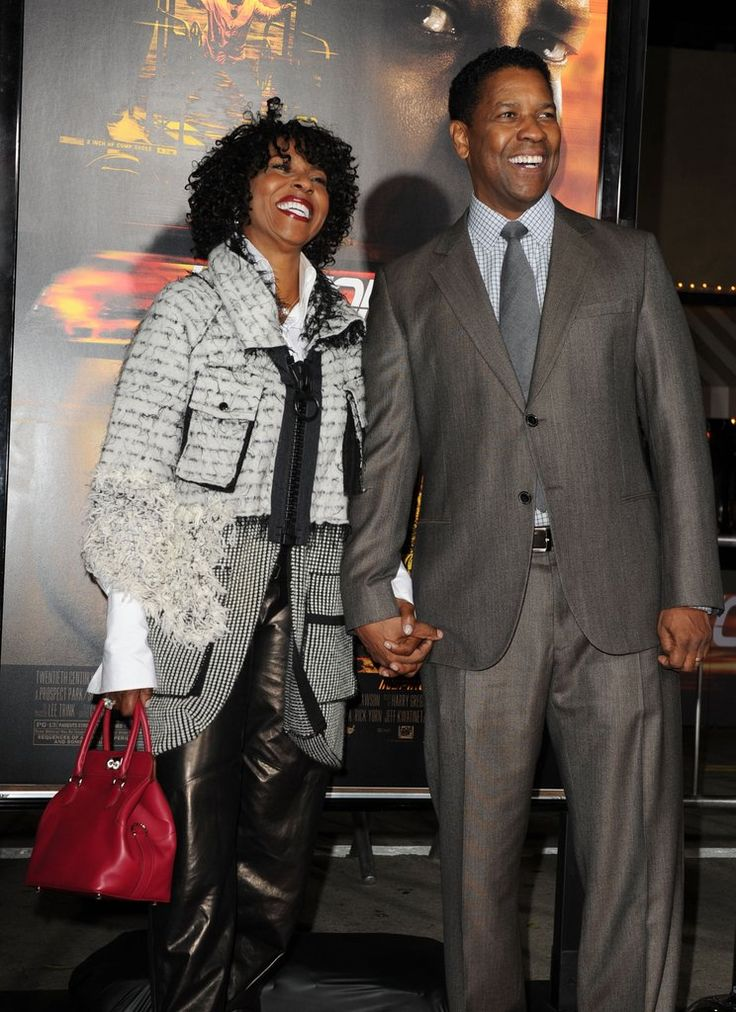 Denzel Washington and Wife Pauletta Have Too Many Sweet Moments to Count