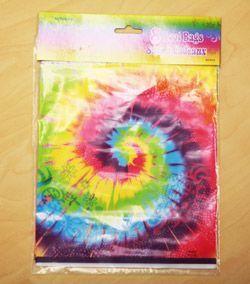 M27413 - Tye-Dye Swirl Loot Bags - Pack of 8 Loot Bags Tye-Dye Swirl - Pack of 8. Please note: approx. 14 day delivery time.