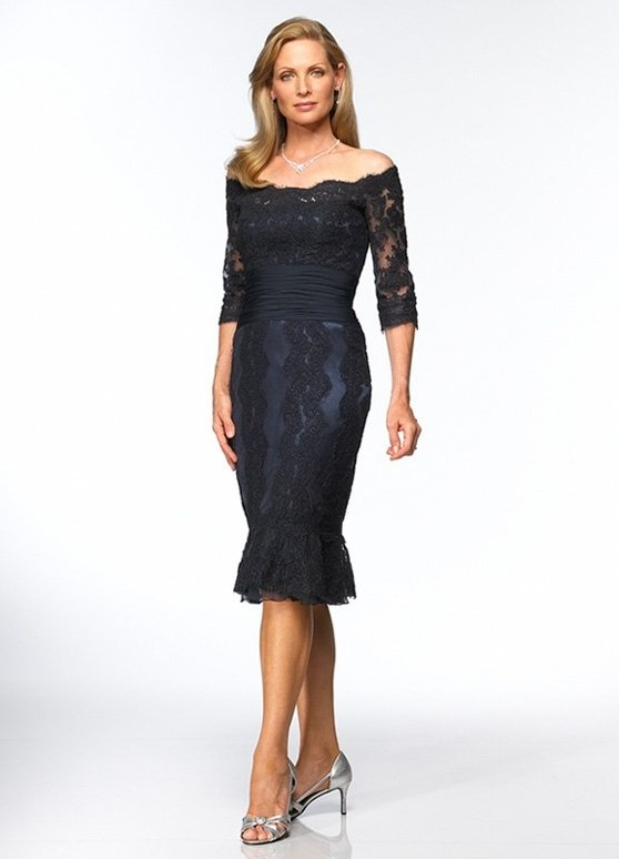 Off Shoulder Navy Blue Lace Dress [MB1264] - $167.00 : LuxeBlue Quality Discount Wedding Dresses & Formal Gowns, Worlds leading supplier of affordable fashion for Wedding dresses, Bridal gowns and discount formal wear. Safe & Fast delivery world wide.: Teas Length, Shoulder Length, Dresses Style, Bride Gowns, The Bride, The Dresses, Bride Dresses, Lace Dresses, Mob Dresses