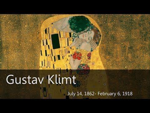 ▶ Gustav Klimt Biography - Goodbye-Art Academy - YouTube