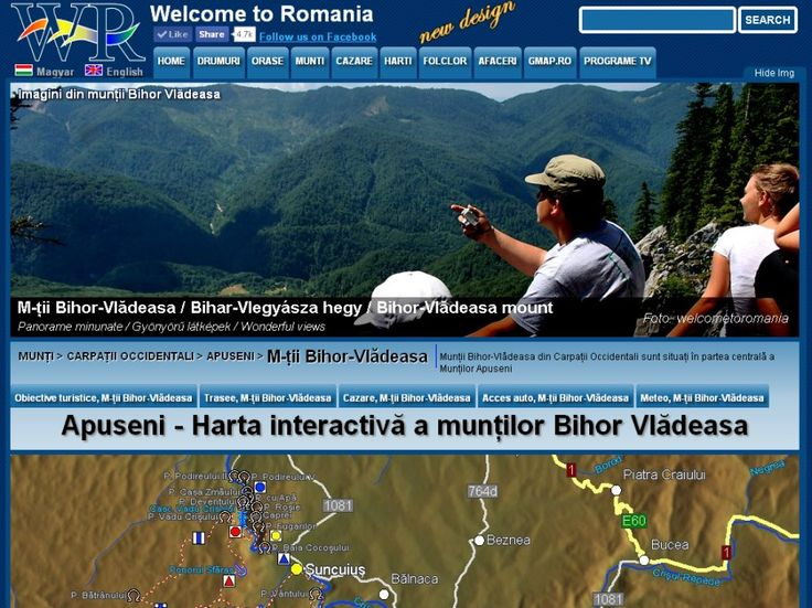 Bihor Mountains Vlădeasa with hundreds  caves, and incredibly beautiful places. Interactive map of all the marked trails. http://www.welcometoromania.ro/Apuseni/Apuseni_Harta_Obiective_r.htm