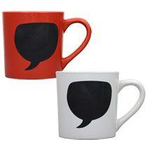 Bulk Coffee Mugs with Chalkboard Labels, 14 oz. at DollarTree.com