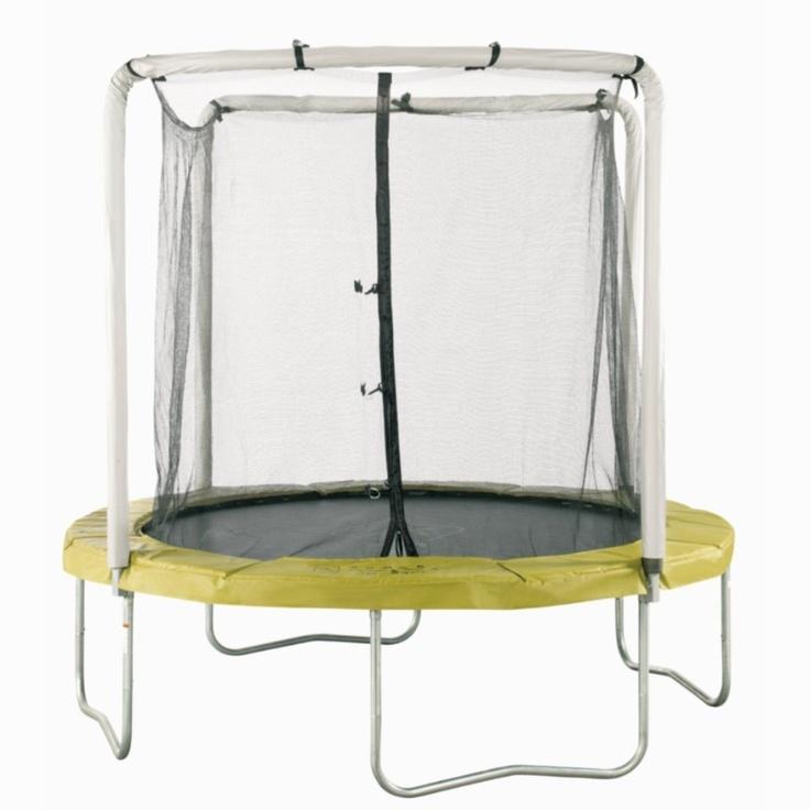 TRAMPOLINO MT 240:  Ideato per saltare nel tempo libero o per la rieducazione. Ideale per il coordinamento e il rinforzo muscolare degli arti inferiori. Resistenza a sollecitazioni ripetute 2,40m altezza