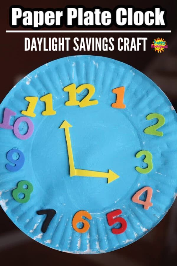 Paper Plate Clock Activity For Learning To Tell Time Teaching