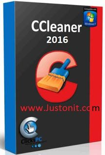 Justonit: CCleaner PC Optimization and Cleaning Software Dow...
