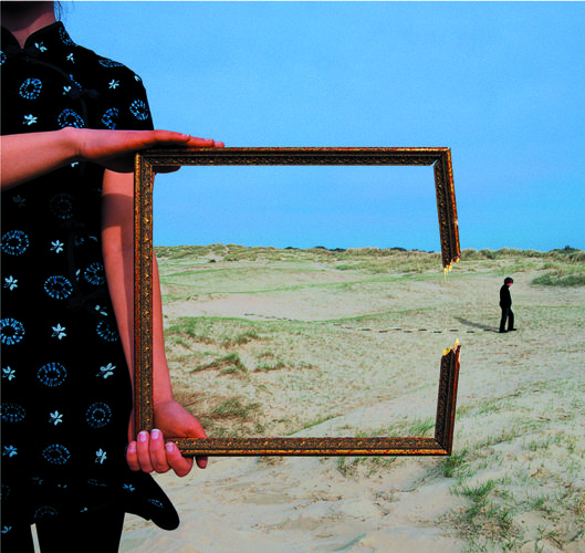 Storm Thorgerson (1944-2013) Deepest Blue's 2004 single Is It A Sin