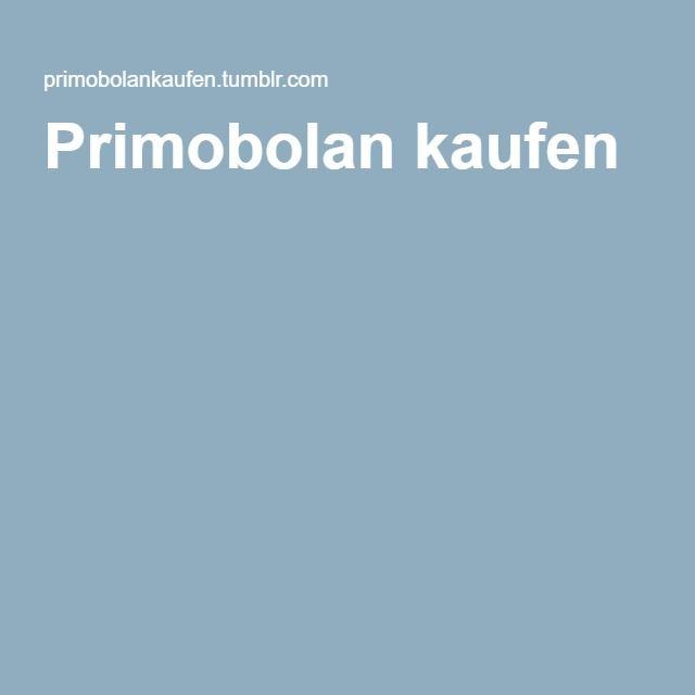 Primobolan kaufen