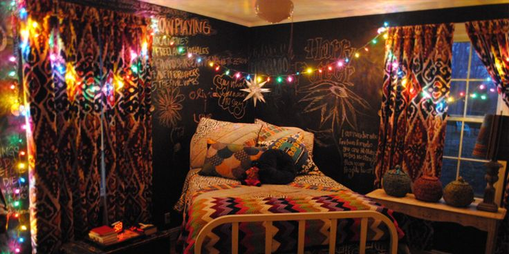 Ideas para decorar tu cuarto estilo boho bohochic amor for Muebles hippies