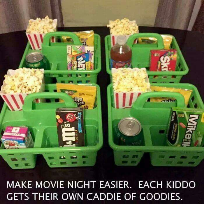 How To Make Movie Night A Lot Easier