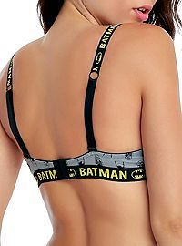 HOTTOPIC.COM - DC Comics Batman Convertible Racer Back Bra
