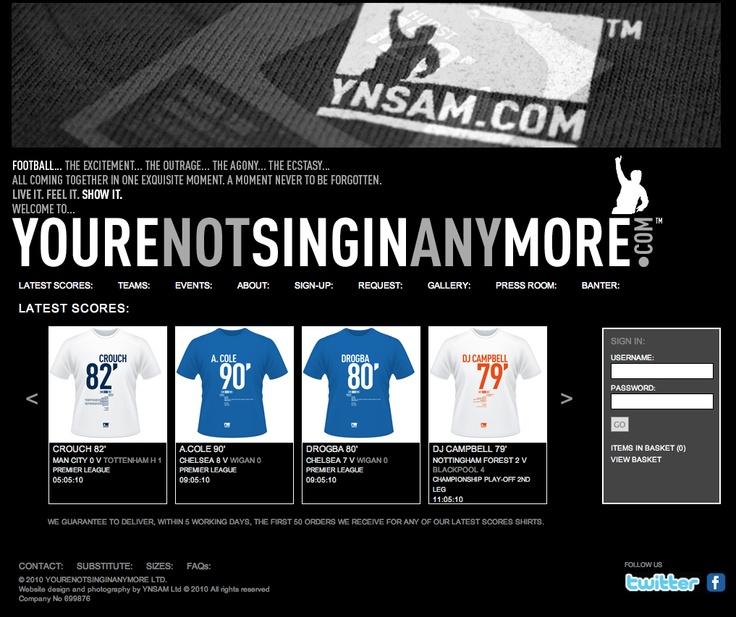 Website for YNSAM