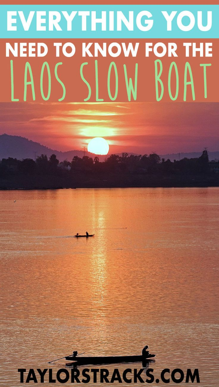 Taking the slow boat to Laos is a unique experience along the Mekong River that shouldn't be missed. This trip from Thailand to Laos will allow you to relax for 2 days and meet plenty of fellow travellers. #laos #thailand ***** Laos travel | Laos slow boat | Slow boat to Laos | Slow boat to Luang Prabang | Thailand to Laos | Thailand travel | Thailand travel tips | Southeast Asia trip | Southeast Asia backpacking | Southeast Asia tips