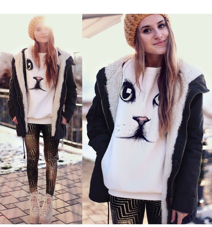 This is Jessica Christ's buyer show in OurMall;  #SWEATER #Face #LEGGING #Lace #HEEL #PARKA please click the picture for detail. http://ourmall.com/?eQrUJb