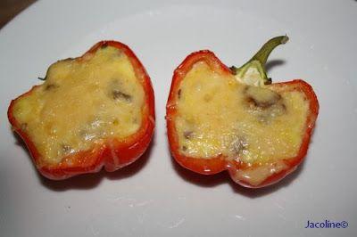 Gezond leven van Jacoline: Rode paprika die groen is