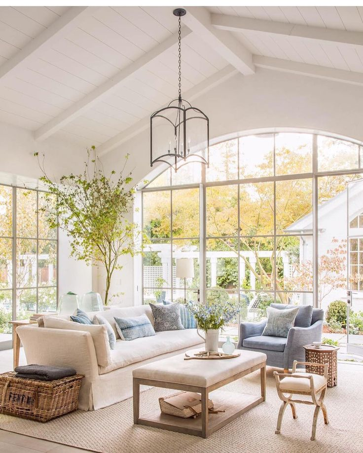 Natural light is a priceless tool for creating atmosphere and comfort
