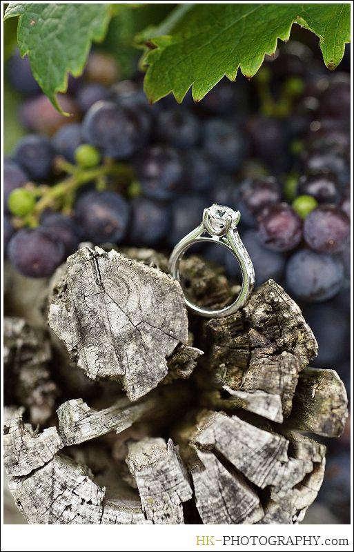 Gouveia Vineyards Engagement Photos