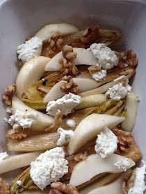 Uit mijn keukentje: Witlof met peer, walnoten en kaas uit de oven