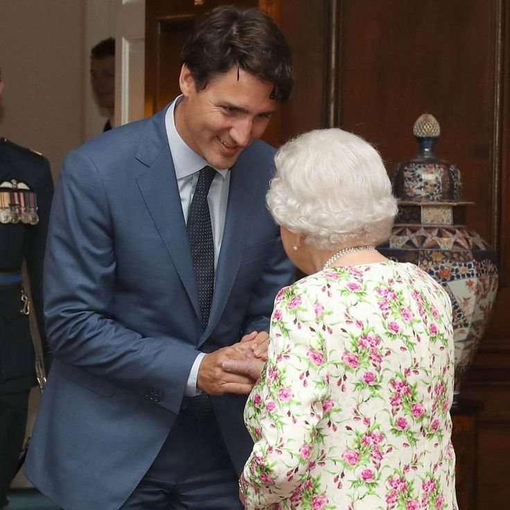 As part of Holyrood Week, The Queen has held an Audience with the Canadian Prime Minister, Justin Trudeau, at the Palace of Holyroodhouse.
