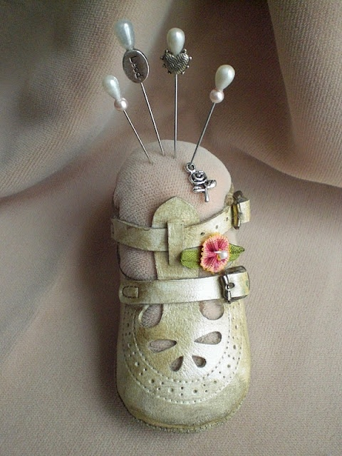 one way to preserve your child's small shoe!!