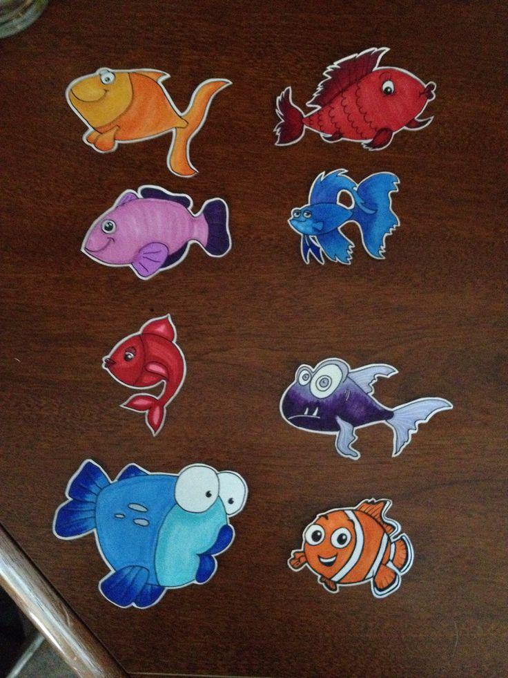 One Fish, Two Fish   Craft & art supplies.   Pinterest