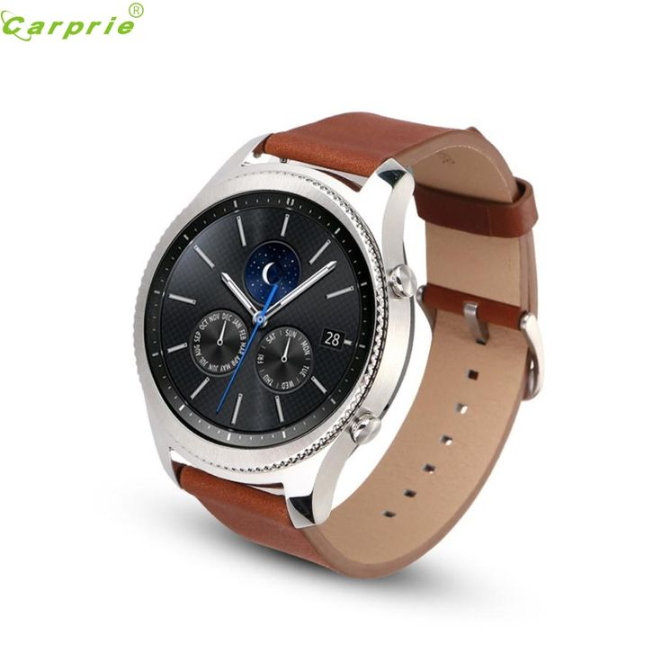 >> Click to Buy << Best Price ! luxurious High quality NEW  Replacement Leather Watch Bracelet Strap Band For Samsung Gear S3 Frontier HOT DEC29 #Affiliate