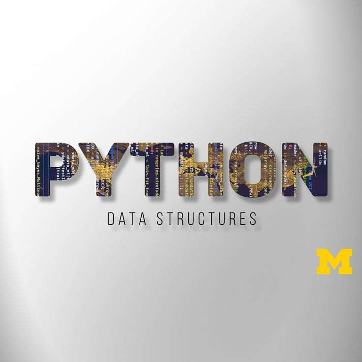 Python Data Structures from University of Michigan. This course will introduce…