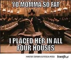 bahaha! harry potter yo mamma jokes? what is this???